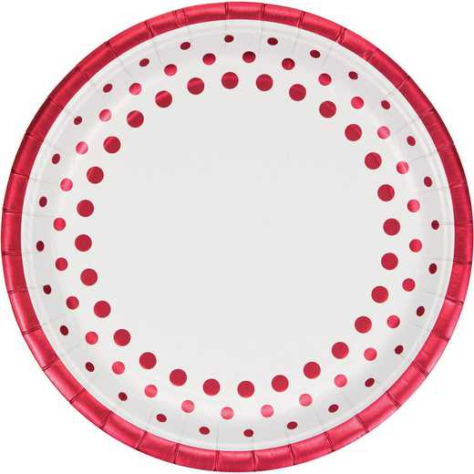 DTC317994BPLT: CC Sparkle and Shine Ruby Banquet Plates