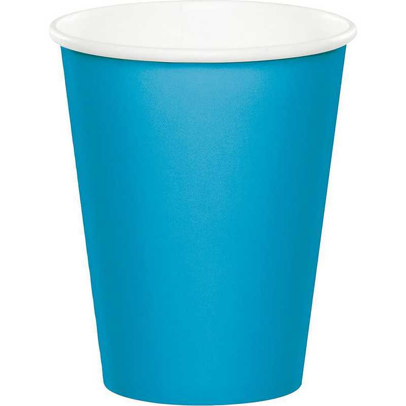 563131B: CC Turquoise Blue Cups - 24 Count