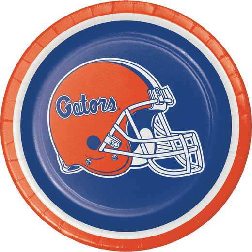 DTC419698PLT: CC University of Florida Dessert Plates - 24 Count