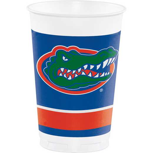 DTC379698TUMB: CC University of Florida Plastic Cups - 24 Count