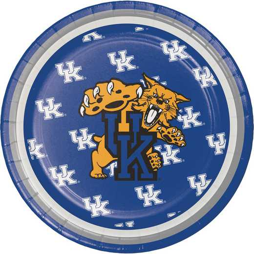 DTC324852PLT: CC University of Kentucky Dessert Plates - 24 Count