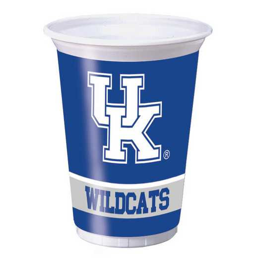 DTC324858TUMB: CC University of Kentucky Plastic Cups - 24 Count