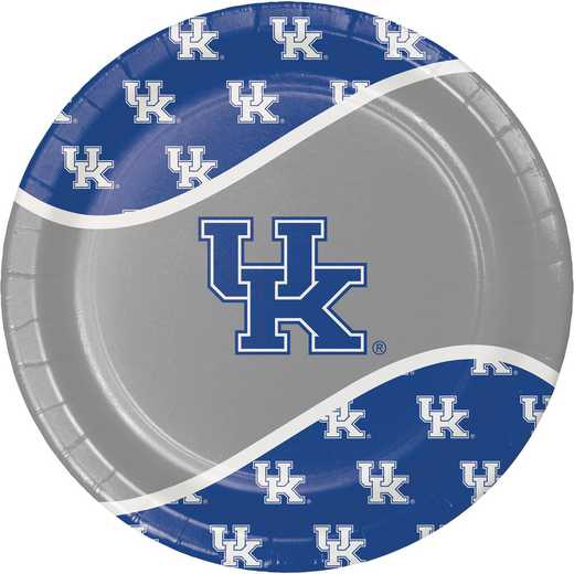 DTC324854DPLT: CC University of Kentucky Paper Plates - 24 Count
