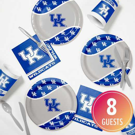 DTC4768C2B: CC University of Kentucky Tailgating Kit 8ct