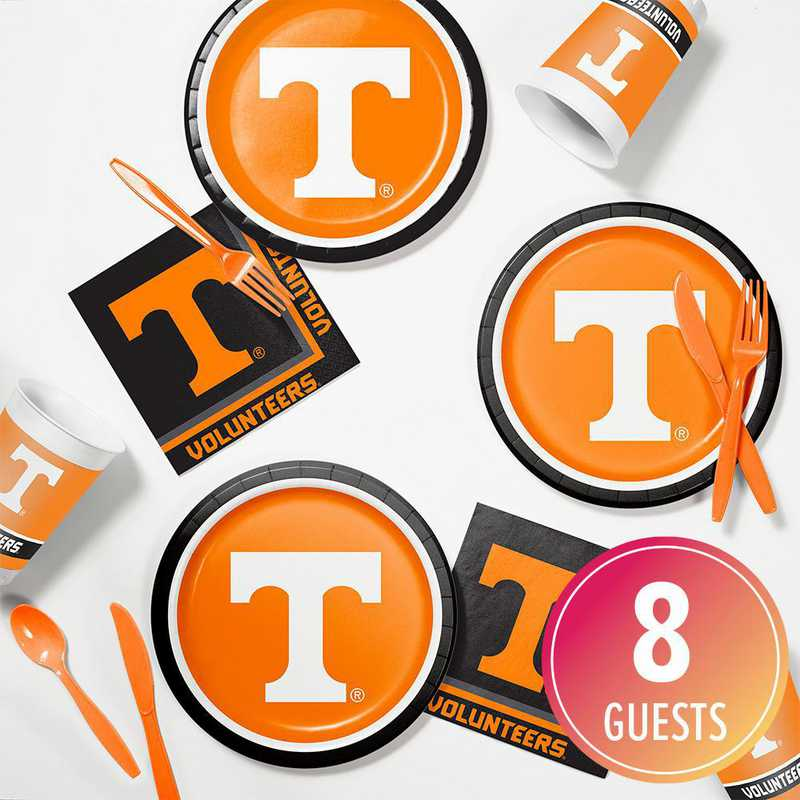 DTC4854C2B: CC University of Tennessee Tailgating Kit 8ct