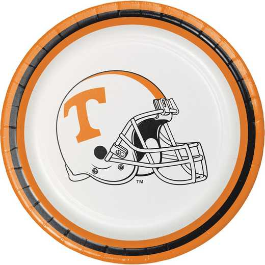 DTC329144PLT: CC University of Tennessee Dessert Plates - 24 Count