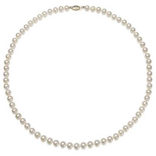 "NF-56-A-18-BF: 14KT YELLOW GOLD 5-6MM FRESHWATER PEARL18"" NECKLACE"