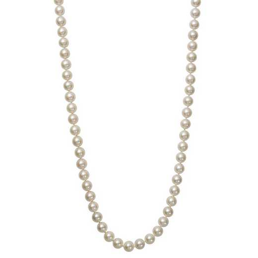 """NF-78-A-18-BF: 14KT YELLOW GOLD 7-8MM FRESHWATER PEARL18"""" NECKLACE"""