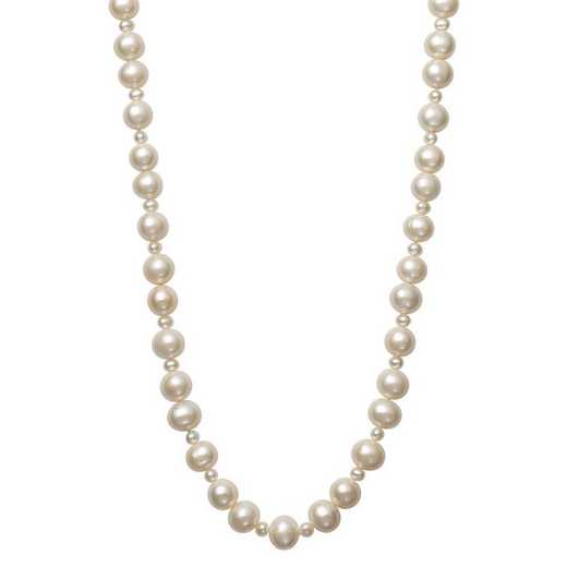"""N-1503-36-BF: 4-5MM Fwp & 9.5-10.5MM Freshwater 36"""" Endless Necklace"""