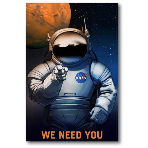 We Need You Gallery-Wrapped Canvas Wall Art