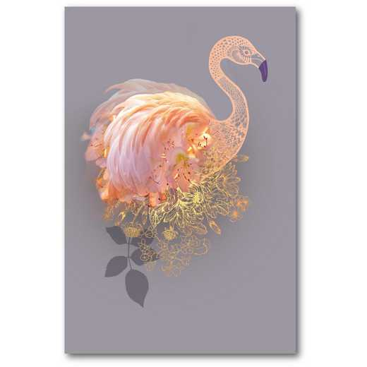 Pink flamingo Gallery-Wrapped Canvas Wall Art