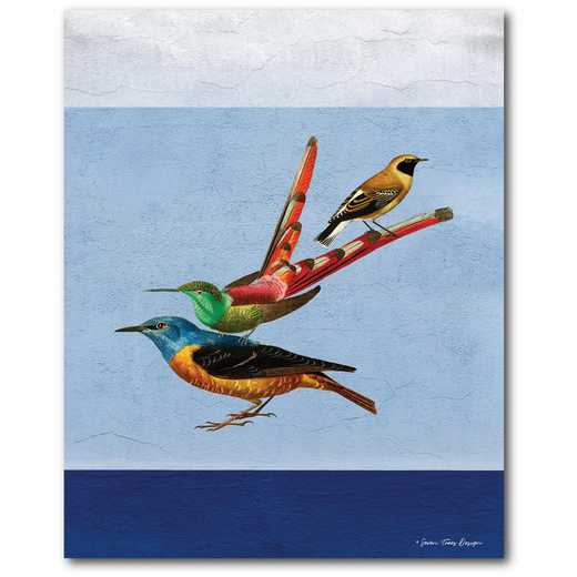 So real birds Gallery-Wrapped Canvas Wall Art