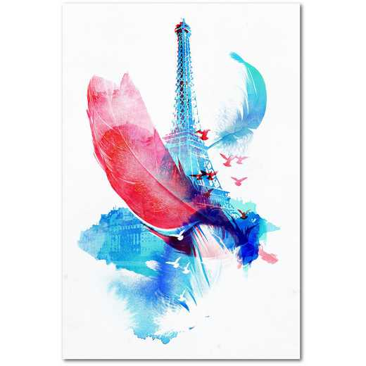 Pigeons of Paris Gallery-Wrapped Canvas Wall Art