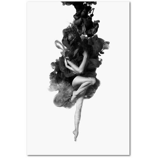 The Born of The Universe Gallery-Wrapped Canvas Wall Art