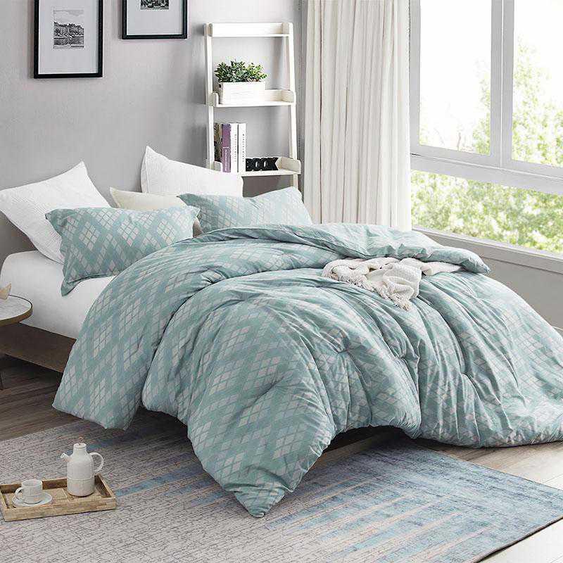 405-COMF-TXL: DormCo Argyle Moda - Twin XL Dorm Comforter