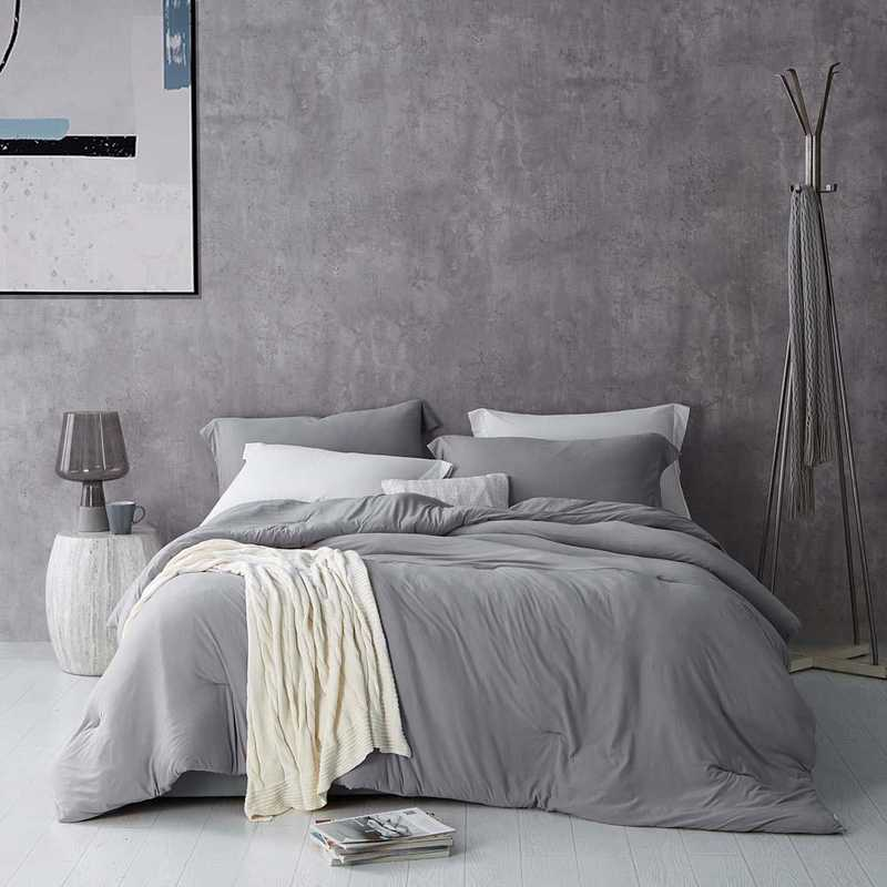 BAREBC-BYB-ALY-TXL: Bare Bottom Comforter - Twin XL Bedding Alloy