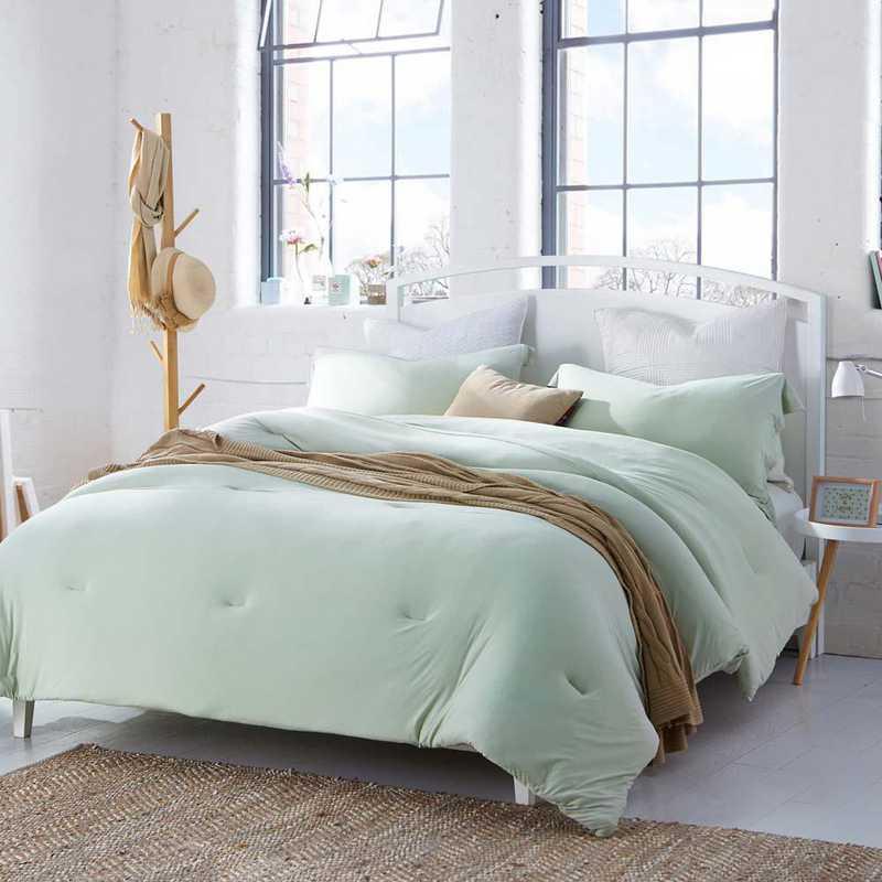 BAREBC-BYB-DEW-TXL: Bare Bottom Comforter - Twin XL Bedding Dewkist