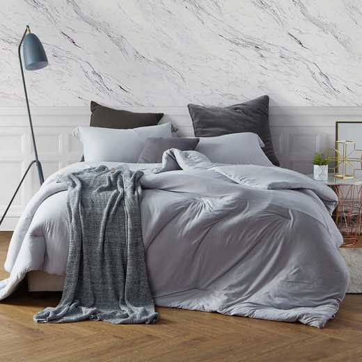 BAREBC-BYB-TG-TXL: Bare Bottom Comforter - Twin XL Bedding Tundra Gray