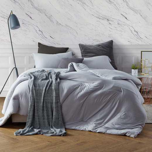 BAREBC-BYB-TG-TXL: Bare Bottom Comforter - Twin XL Bedding Tundra Gray
