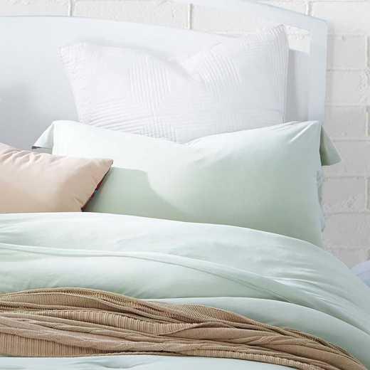 BAREBS-BYB-STND-DEW-2PACK: DormCo Bare Bottom Dorm Pillow Sham 2 Pack - Dewkist