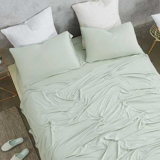 BAREBS-BYB-DEW-TXL: Bare Bottom Sheets - All Season - Twin XL Bedding - Dewkist