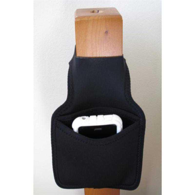 A-BIN-BP200-BLACK: DormCo College Bedside Bunk Storage Pocket - Black