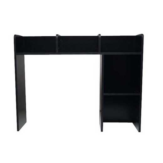 CDDB-BOOK-BLACK: DormCo Classic Dorm Desk Bookshelf - Black