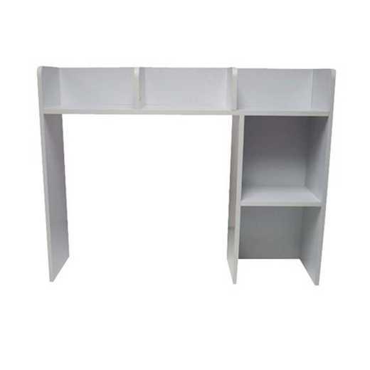 CDDB-BOOK-WHITE: DormCo Classic Dorm Desk Bookshelf - White