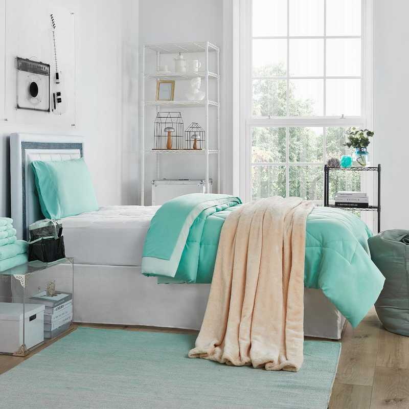 Miraculous College Freshman Dorm Pack Twin Xl Yucca Hint Of Mint Color Set Download Free Architecture Designs Scobabritishbridgeorg