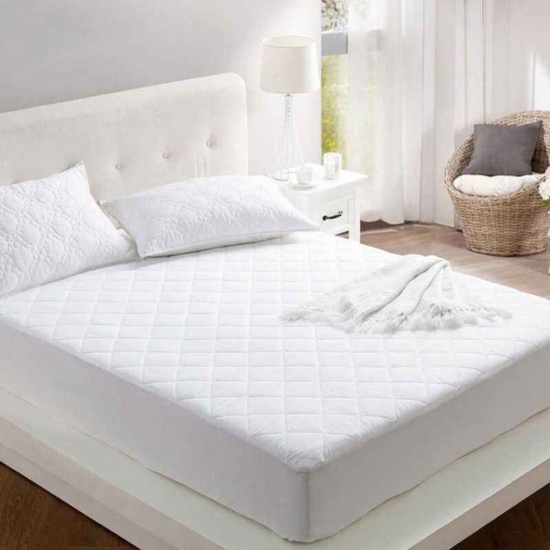 DORMCO-COTMP: 100% Cotton Filled College Mattress Pad - Twin XL