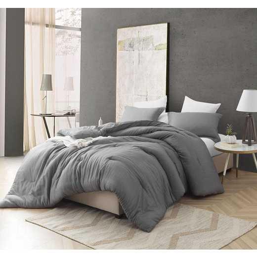 406A-COMF-TXL: DormCo Croscutt - Cavern Gray - Twin XL Dorm Comforter