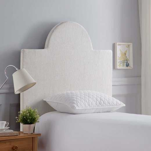 DC-DIY-HB-SEMICIRCLE: DIY Dorm Room Headboard - Square Semi-Circle