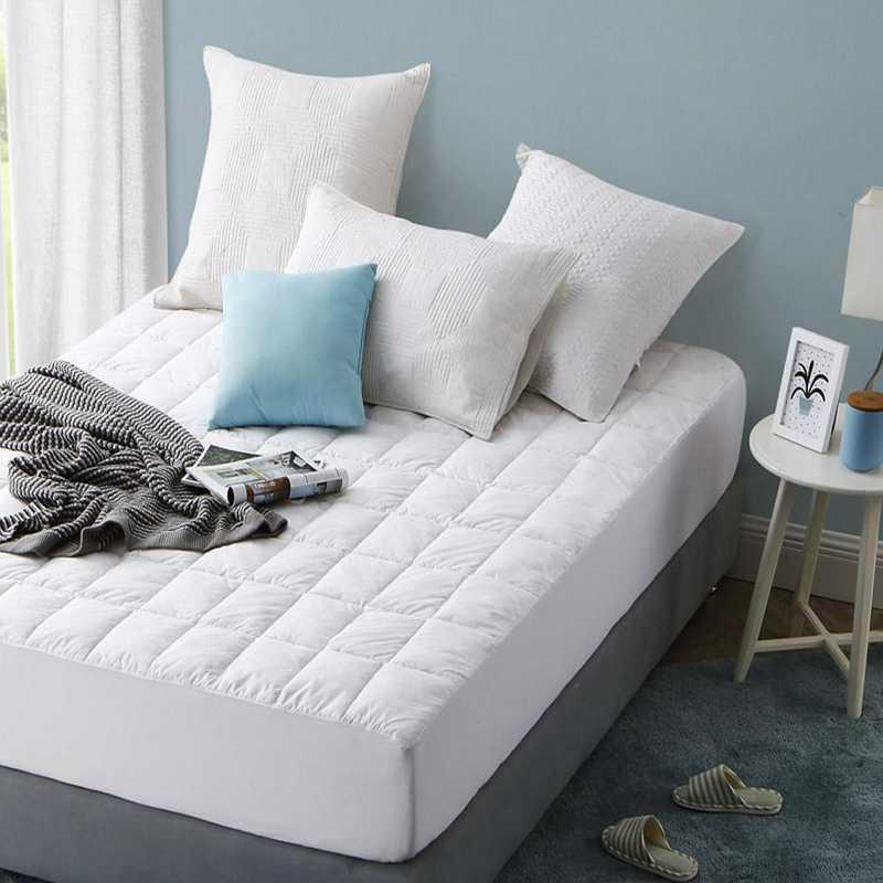 M-PAL2-FBMP-COTTON: Featherbed Mattress Pad - Twin XL - 100% Cotton