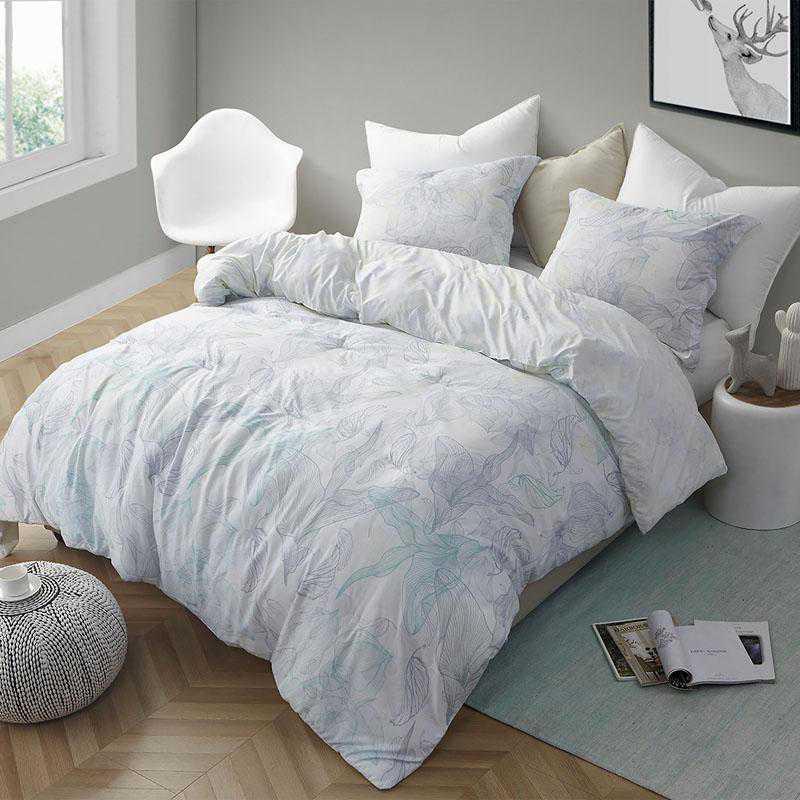 420-COMF-TXL: DormCo Flourish - Twin XL Dorm Comforter