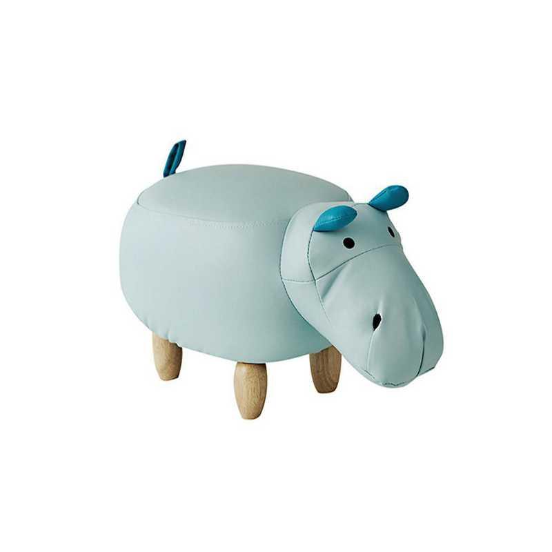 EK-HIPPO610-MT: Spencer - Hippo - Dorm Room Seating Stool