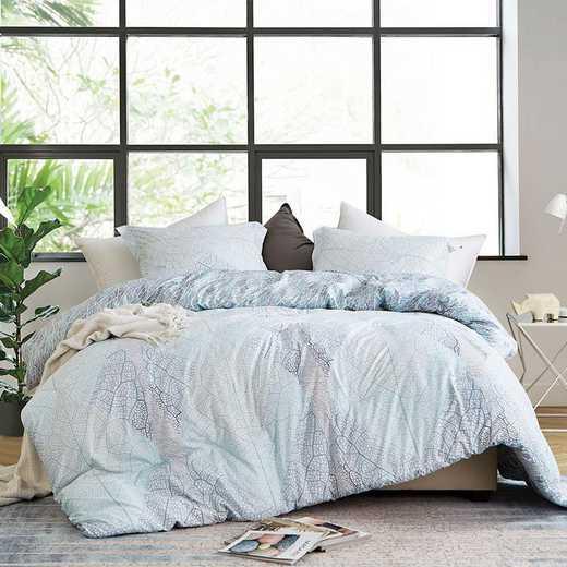 421-COMF-TXL: DormCo Hojas Flor - Twin XL Dorm Comforter