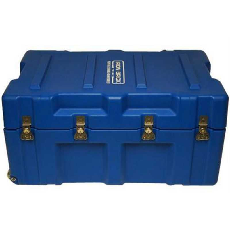 IBRICK-COLO-BLUE: The Iron Brick Trunk - STRONGEST College Trunk - Blue