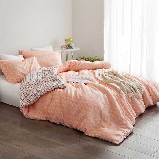 432-COMF-TXL: DormCo Just Peachy - Twin XL Dorm Comforter