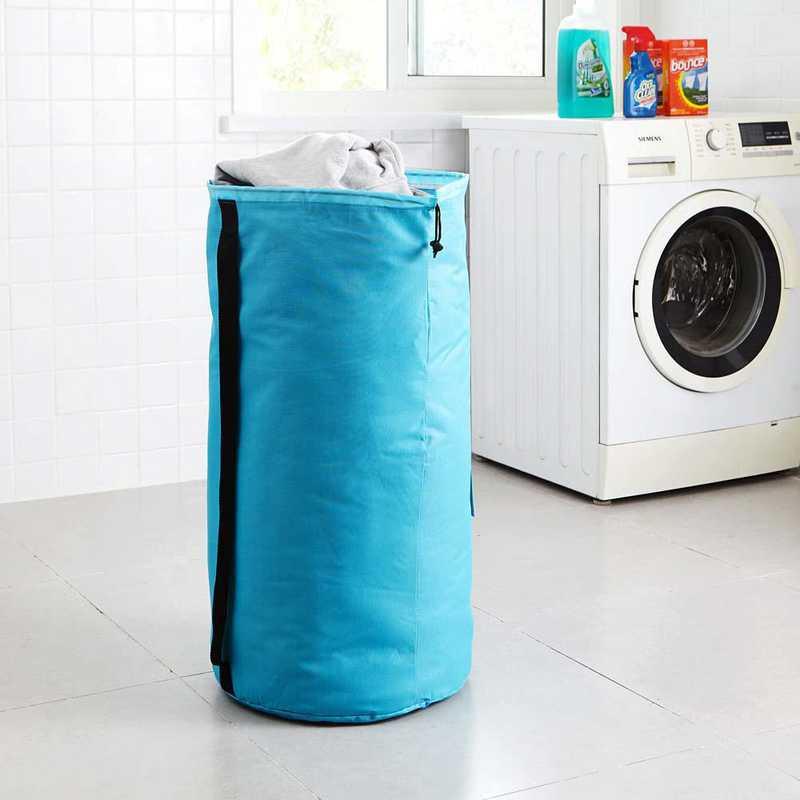 F1-1-1-25415-AQUA: DormCo Laundry Backpack - TUSK College Storage - Aqua