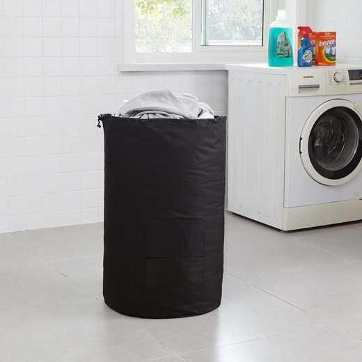 F1-1-1-25415-BLK: DormCo Laundry Backpack - TUSK College Storage - Black