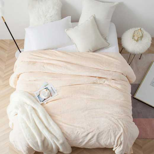 MSCDBB-ECR-TXL: Me Sooo Comfy Twin XL Blanket - Ecru