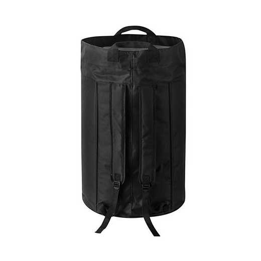 F1-1-2-3640115: DormCo Oversized College Laundry Duffel Bag - Black