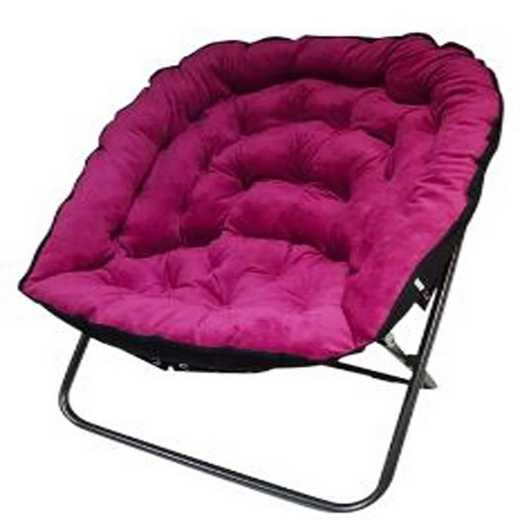 BUCK-XPAPMOONPNK: Papasan Moon Chair - Pink