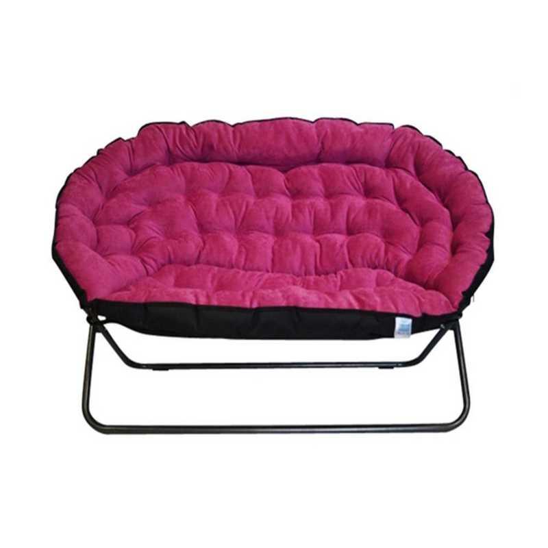BUCK-XPAPSOFAPNK: Papasan Dorm Sofa - Pink