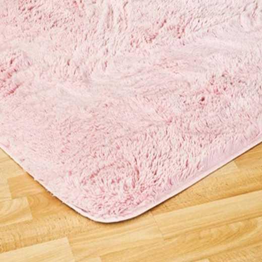 DORMCO-1-1-SZ-2102-4X6: College Plush Rug - Baby Pink - 4' x 6'