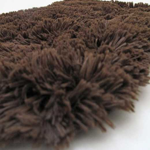 DORMCO-2-1-SZ-2102C-3X4: College Plush Rug - Brown - 3' x 4.75'
