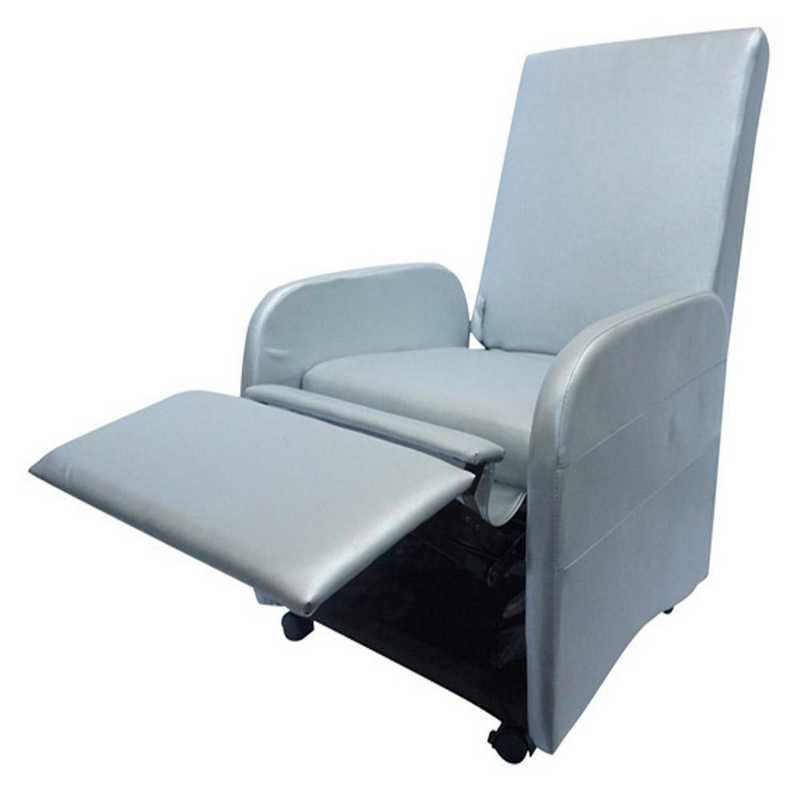 TC-VIN-SILVER: The College Recliner (Folds Compact) - Silver