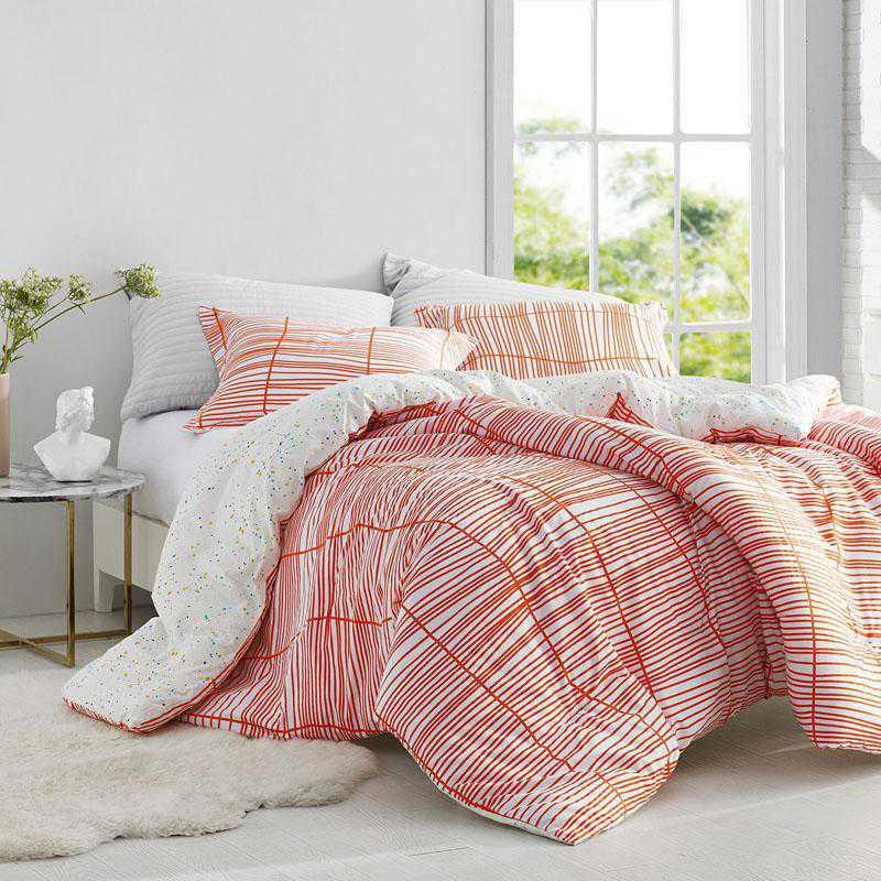 441-COMF-TXL: DormCo Restyle Orange - Twin XL Dorm Comforter
