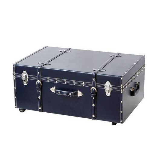 BUCK2-E-11124NB: The Sorority College Dorm Trunk - Midnight Navy
