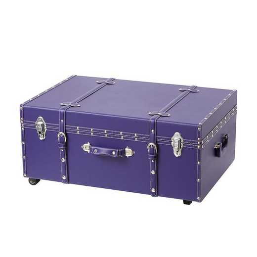BUCK2-E-11124PLUM: The Sorority College Dorm Trunk - Plum
